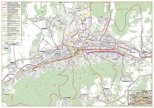 Cyklomapy Brozury Turisticky Informacni Portal Mesta Zlina